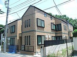 東京都練馬区小竹町2丁目の賃貸アパートの外観