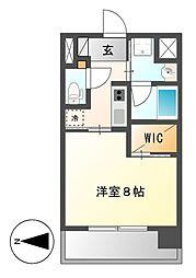 セレステーション[3階]の間取り