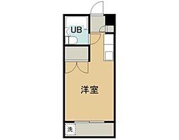東京都江戸川区平井1の賃貸マンションの間取り
