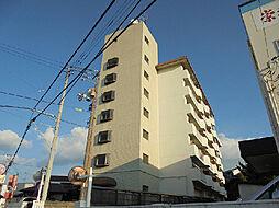 愛媛県松山市久万ノ台の賃貸マンションの外観