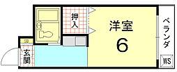 ピア花園:[B-05号室]の間取り