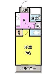 大塚ハイツ[2階]の間取り