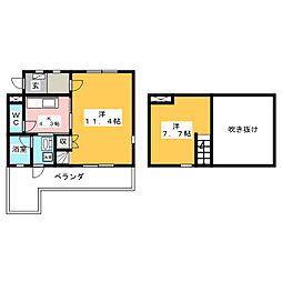 U・TOPIA 62[9階]の間取り