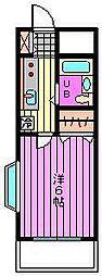 ツイン・アーバン21[1階]の間取り