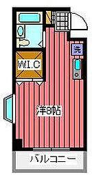 エヌアール5番館[2階]の間取り