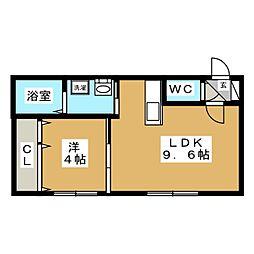 fainy lulu[2階]の間取り