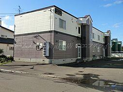 北海道札幌市東区東苗穂十条3丁目の賃貸アパートの外観