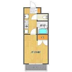 Fuji Mansion Excel 〜フジマンションエクセ[702号室]の間取り