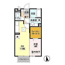 豊田弐番館[2階]の間取り