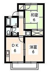第2コンチェルト C棟[2階]の間取り