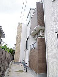 愛知県名古屋市昭和区川名町2丁目の賃貸アパートの外観