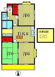 メゾン柴仁[2階]の間取り