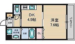 今川マンション[2階]の間取り