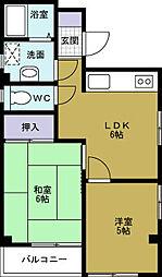 メゾン・フォレ[2階]の間取り