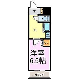 T-ROOM栄[3階]の間取り