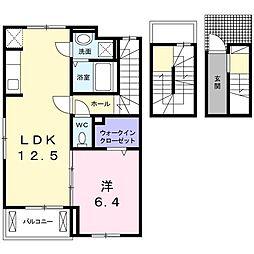 日野アパート[0306号室]の間取り