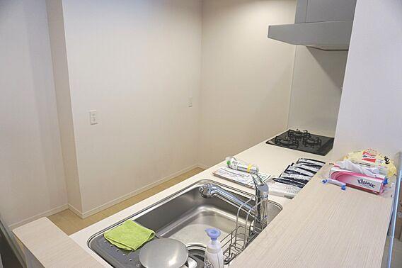 対面式キッチン...