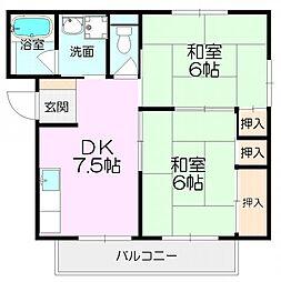 SATOマンション[302号室]の間取り