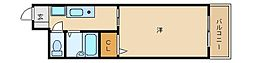 カデンツァK[3階]の間取り