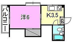 メゾン湯渡[403 号室号室]の間取り