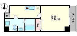 ロイヤルコート立売堀[8階]の間取り