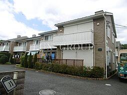 東京都立川市砂川町4丁目の賃貸アパートの外観