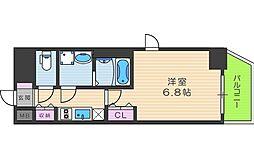 ファーストフィオーレ福島野田 2階1Kの間取り
