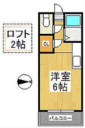 デェイジーⅠ[2階]の間取り