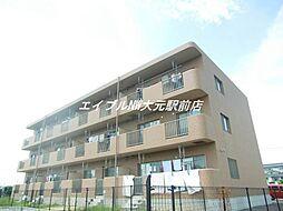 岡山県岡山市南区米倉丁目なしの賃貸マンションの外観