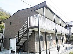 神奈川県藤沢市片瀬1丁目の賃貸アパートの外観