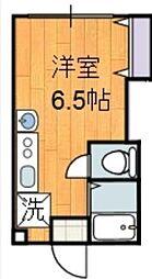 神奈川県秦野市鶴巻南1丁目の賃貸マンションの間取り