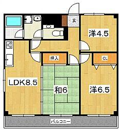 国府津駅 6.5万円