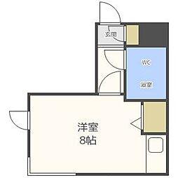 エクセレントハウス414[3階]の間取り