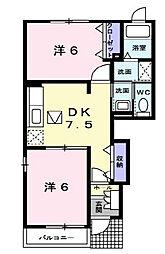 WSSR77[1階]の間取り