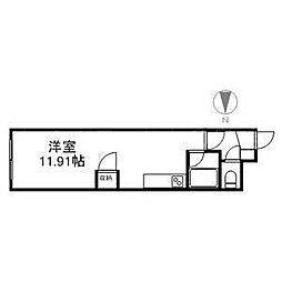 プロビデンス平岸[2階]の間取り