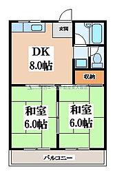 プチメゾン[2階]の間取り