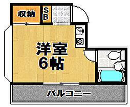 MYFII[4階]の間取り
