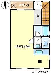 ルネ武里A 301[3階]の間取り