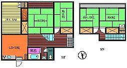 [一戸建] 宮崎県延岡市南一ヶ岡2丁目 の賃貸【/】の間取り