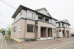 [テラスハウス] 北海道札幌市厚別区上野幌三条4丁目 の賃貸【/】の外観