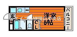 ピアハウスFuji[2階]の間取り