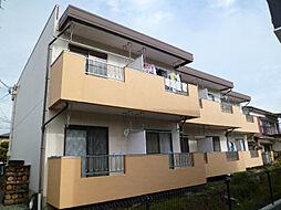 長野県茅野市仲町の賃貸アパートの外観