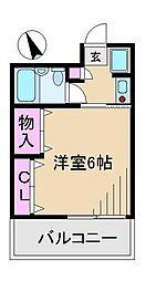 第3サカモトビル[7階]の間取り