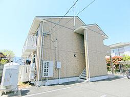 長野県長野市平林1丁目の賃貸アパートの外観