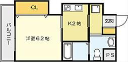 古船場タカヤコーポレーションビル[10階]の間取り