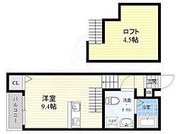 竹下駅 4.5万円