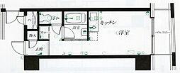 仙台リエゾン[G402号室]の間取り
