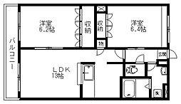 Limiri[2階]の間取り