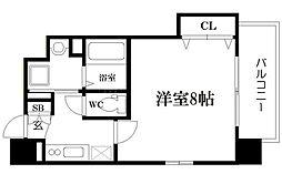 LC新梅田III[7階]の間取り