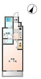 木更津市金田東5丁目新築アパート[107号室]の間取り